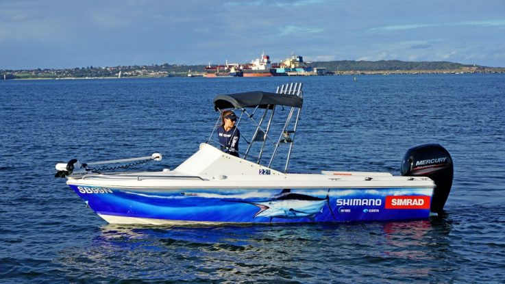 She Fishes - Chloe Laurence picks  Mercury FourStroke
